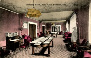 Reading Room, Elk's Lodge - Portland, Oregon (small)