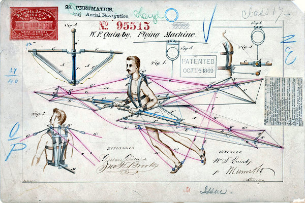 Quinby Flying Machine Patent, 1869 (small)