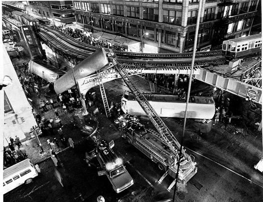 Chicago L train crash 1977