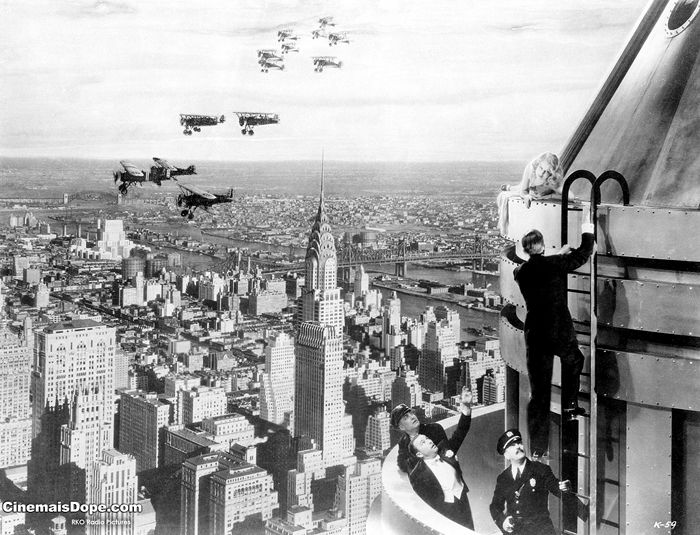 King Kong flights, New York City, 1933