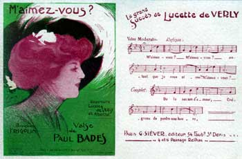 Maimez-vous - Valse de Paul Bades - sung by Lucette de Verly (small)