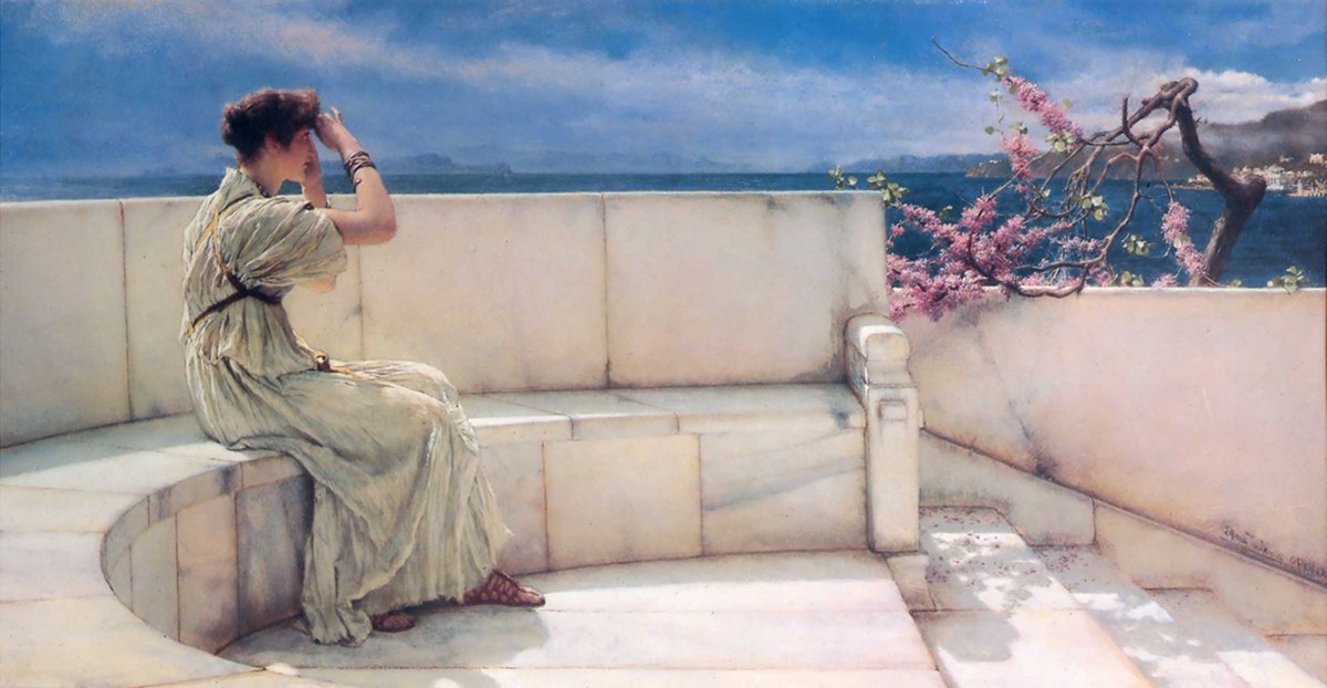 Expectations, Lawrence Alma-Tadema, 1885