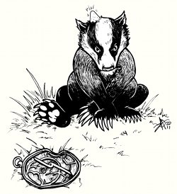 Astrolabe versus Badger - Kythera of Anevern (mini)