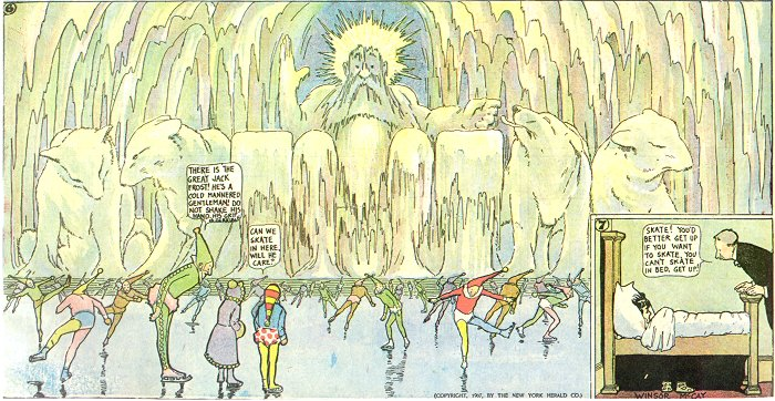 Jack Frost's Ice Palace - Little Nemo, Winsor McCay