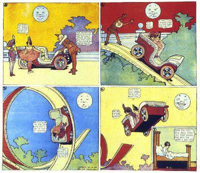 Loop Ride - Little Nemo, Winsor McCay
