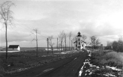 Sand Point Lighthouse, 1934 by DLF