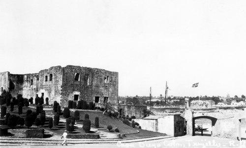 Postcard photo - Casa Diego Colon, Trujillo, Dominican Republic, 25 July 1936 (small)