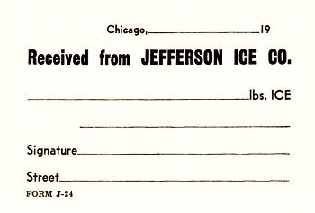 Jefferson Ice receipt