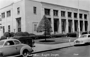 New Post Office, Eugene, Oregon 1930 - photo c1950