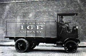 Jefferson Ice Truck c1921