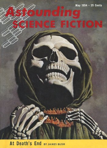 At Death's End - James Blish - H. R. van Dongen, ASF May 1954