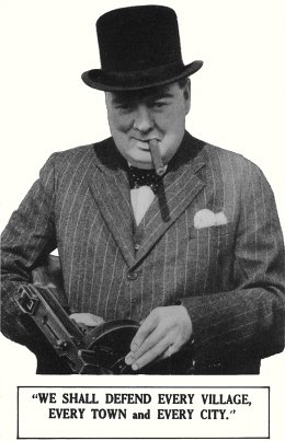Churchill with Thompson SMG (small)