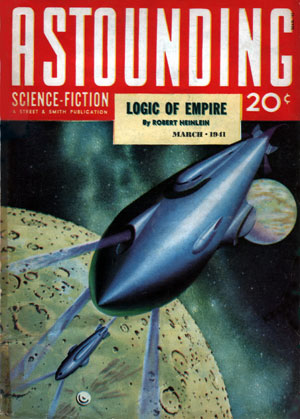 Logic of Empire (ASF March 1941 cover) - Hubert Rogers - Robert A. Heinlein