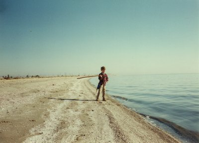 Salton Sea eastern beach, DHF