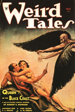 Weird Tales, May 1934 - Margaret Brundage