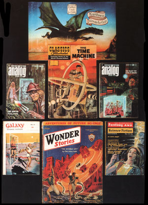Seven SF covers