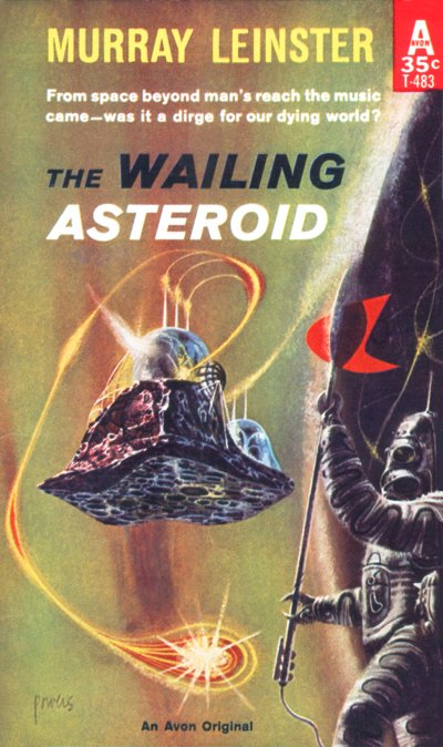 The Wailing Asteroid (Leinster), Richard Powers, Avon 1960