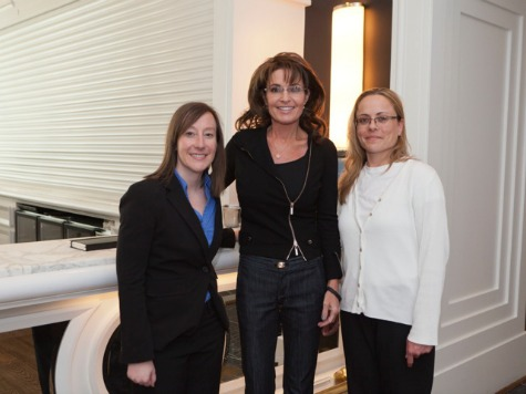 Whitney Pitcher, Sarah Palin, Stacy Drake at CPAC 2013 - Shealah Craighead