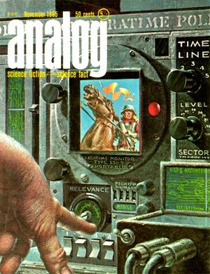 Down Styphon (Analog Nov 1965 cover) - Kelly Freas - Piper (small)