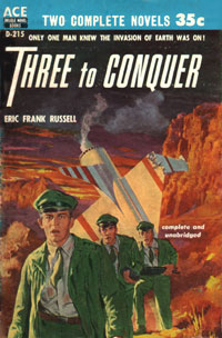 Three to Conquer - Eric Frank Russell