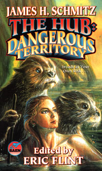The Hub - Dangerous Territory - Eggleton cover (Baen)