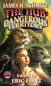 The Hub - Dangerous Territory - Eggleton cover (Baen)