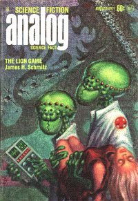 Lion Game - Kelly Freas