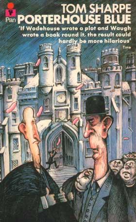 Porterhouse Blue - Tom Sharpe (cover)