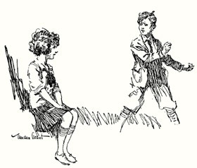Penrod and Marjorie (Gordon Grant)