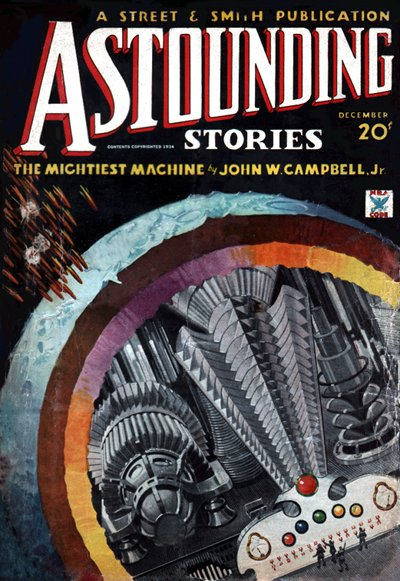 The Mightiest Machine (Astounding, Dec 1934, Brown) - Campbell (small)
