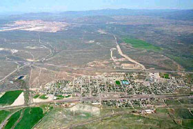 Carlin, Nevada - aerial (small)
