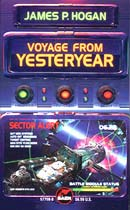 Voyage from Yesteryear - cover by Patrick Turner