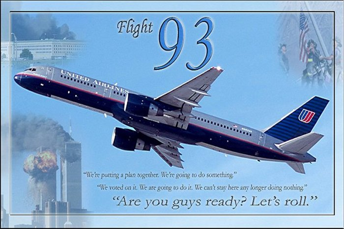United Airlines Flight 93, 9.11.2001