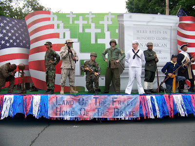 Full Soldiers, Flag Day float 2011 - Adrienne Ross