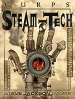 GURPS Steampunk cover