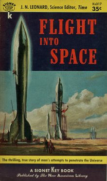 Flight into Space - J. N. Leonard, 1954