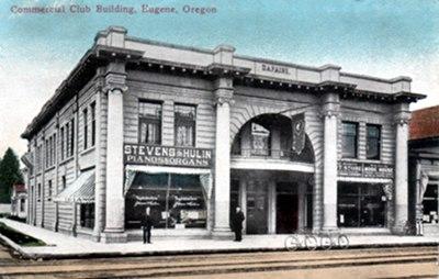 Commercial Club Building, Eugene, Oregon circa 1911