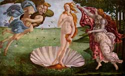 Birth of Venus - Botticelli