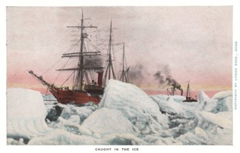 Caught in the Ice (postcard 1935)