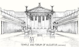 Temple and Forum of Augustus